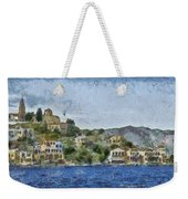City By The Sea Weekender Tote Bag by Ayse Deniz