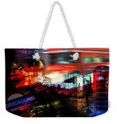 London City Cafe Culture Weekender Tote Bag