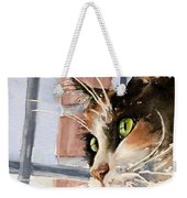City Cat Weekender Tote Bag