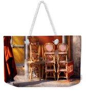 City - Chairs - Red Weekender Tote Bag
