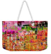 City Dusk Cityscape Weekender Tote Bag