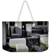 City Fountain Weekender Tote Bag
