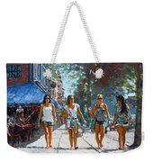 City Girls Weekender Tote Bag