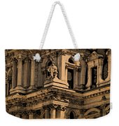 City Hall Closeup Weekender Tote Bag