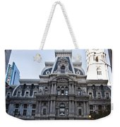 City Hall From Market Street Weekender Tote Bag