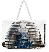 City Hall London Weekender Tote Bag by Christi Kraft