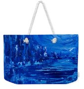 City In Blue Weekender Tote Bag