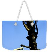 City Lamp Post Weekender Tote Bag by Karol Livote