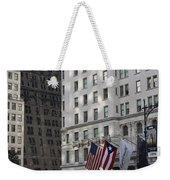 City Life - New York City Weekender Tote Bag