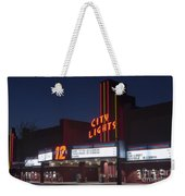 City Lights After Dark Weekender Tote Bag