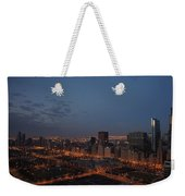 City Lights At Dawn Weekender Tote Bag