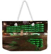 City Lights Urban Abstract Weekender Tote Bag