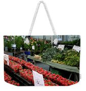 City Market - Manhattan Weekender Tote Bag