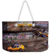 City - New York - Greenwich Village - Life's Color Weekender Tote Bag