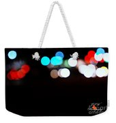 City Night Lights Weekender Tote Bag
