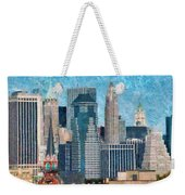 City - Ny - A Touch Of The City Weekender Tote Bag