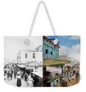 City - Ny - The Bowery 1900 - Side By Side Weekender Tote Bag