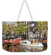 City Of Amsterdam Weekender Tote Bag