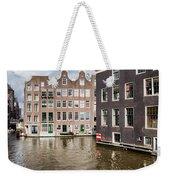 City Of Amsterdam Canal Houses Weekender Tote Bag