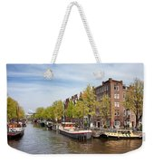City Of Amsterdam In The Netherlands Weekender Tote Bag