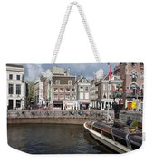 City Of Amsterdam Urban Scenery Weekender Tote Bag