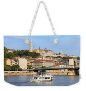 City Of Budapest Weekender Tote Bag