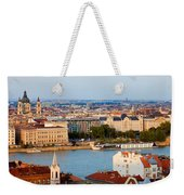City Of Budapest Cityscape Weekender Tote Bag