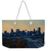 City Of Calgary Weekender Tote Bag