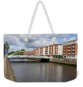 City Of Dublin In Ireland Weekender Tote Bag