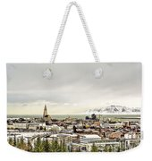 City Of Reykjavik  Weekender Tote Bag