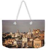 City Of Rome At Dusk Weekender Tote Bag