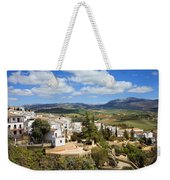 City Of Ronda In Spain Weekender Tote Bag