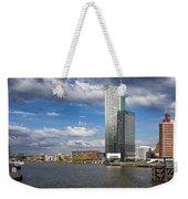 City Of Rotterdam In Netherlands Weekender Tote Bag