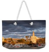 City Of Seville At Sunset Weekender Tote Bag