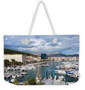 City Of Split Port In Croatia Weekender Tote Bag
