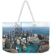 City Of The Future Weekender Tote Bag
