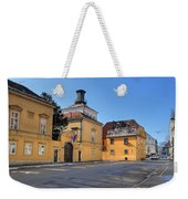 City Of Zagreb Historic Upper Town Weekender Tote Bag