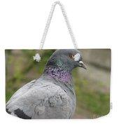 City Pigeon Weekender Tote Bag