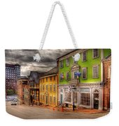 City - Providence Ri - Thomas Street Weekender Tote Bag