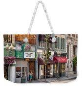 City - Roanoke Va - Down One Fine Street  Weekender Tote Bag