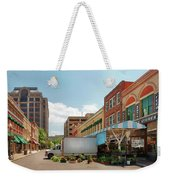 City - Roanoke Va - The City Market Weekender Tote Bag