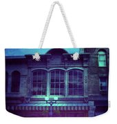 City Street At Night Weekender Tote Bag