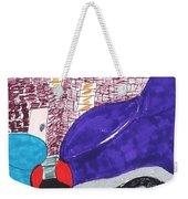City Curb Street Parking Weekender Tote Bag