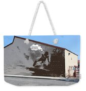 City Surfin Street Art Weekender Tote Bag