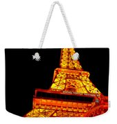 City - Vegas - Paris - Eiffel Tower Restaurant Weekender Tote Bag