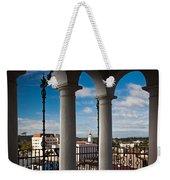 City Viewed Through From The Santa Weekender Tote Bag