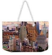 Cityscape Dream Weekender Tote Bag