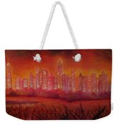 Cityscape Gold Coast Weekender Tote Bag
