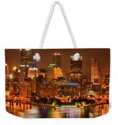 Cityscape Of Color Weekender Tote Bag