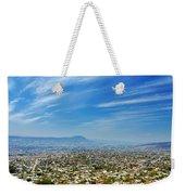 Cityscape Of Tuxtla Chiapas Weekender Tote Bag